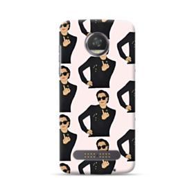 Kris Jenner middle finger meme Motorola Moto Z3 Play Case