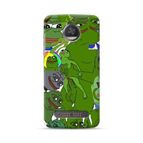 Rare pepe the frog seamless Motorola Moto Z3 Play Case