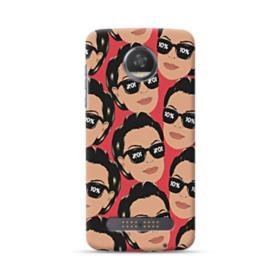 Kris jenner funny meme emoji Motorola Moto Z3 Play Case
