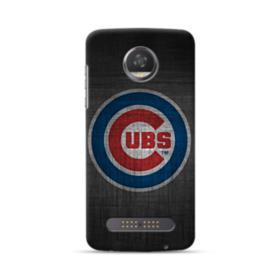 Chicago Cubs Logo Sketch Motorola Moto Z3 Play Case