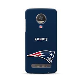New England Patriots Team Logo NFL Motorola Moto Z3 Play Case