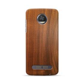 Red Oak Wood Motorola Moto Z3 Play Case
