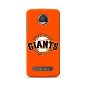 San Francisco Giants Team Logo Baseball Motorola Moto Z3 Play Case