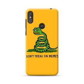 Pepe the frog don't tread on memes Motorola One Case