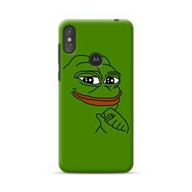 Smug Pepe Frog Funny Meme Motorola One Case