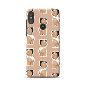 Kim kardashian butt Kimoji  Motorola One Case