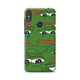 Sad Pepe frog seamless Motorola One Case