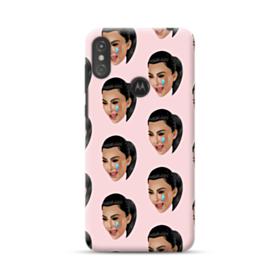 Crying Kim emoji kimoji seamless Motorola One Case