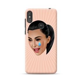 Crying Kim emoji kimoji Motorola One Case