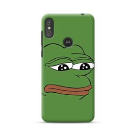 Sad Pepe frog Motorola One Case