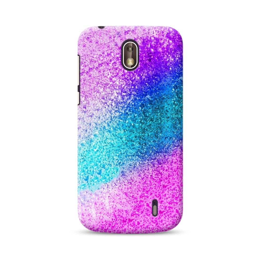 pretty nice a98eb 0f203 Rainbow Glitter Nokia 1 Case