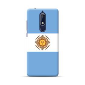 Flag of Argentina Nokia 5.1 Case