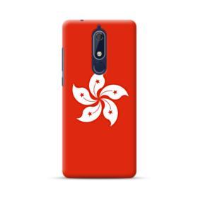 Hong Kong Flag Nokia 5.1 Case