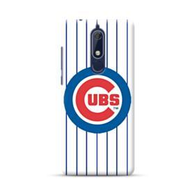 Chicago Cubs Vertical Lines Nokia 5.1 Case
