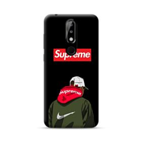 Supreme x Nike Hoodie Nokia 5.1 Plus Case