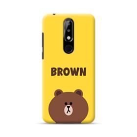 Line Friends Brown Nokia 5.1 Plus Case