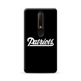 Patriots Logo Black Nokia 6.1 Case