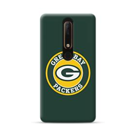 Green Bay Packers Team Logo Round Nokia 6.1 Case