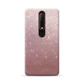Rose Gold Glitter Nokia 6.1 Case
