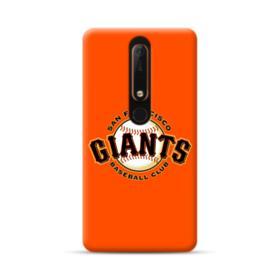 San Francisco Giants Team Logo Baseball Nokia 6.1 Case