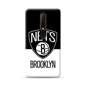 Brooklyn Nets Logo Black White Nokia 6.1 Case