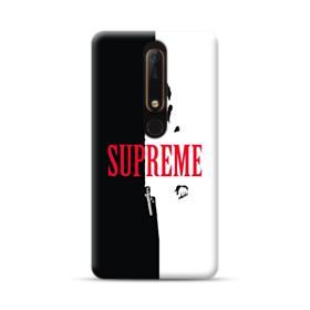 Vintage Supreme Black and White Man Nokia 6.1 Case