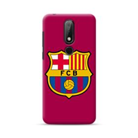 FC Barcelona Logo Wine Red Nokia 6.1 Plus Case