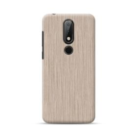 Light Walnut Wood  Nokia 6.1 Plus Case
