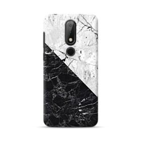 Black & White Marble  Nokia 6.1 Plus Case