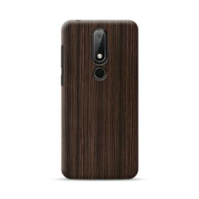 Dark Coffee Wood Nokia 6.1 Plus Case