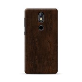 Dark Chocolate Wood  Nokia 7 Case