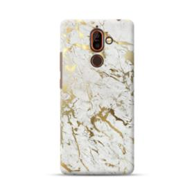 Gold Leaf Marble Nokia 7 Plus Case