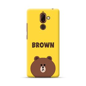 Line Friends Brown Nokia 7 Plus Case