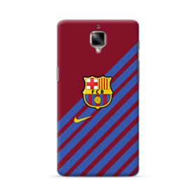 FC Barcelona Diagonal Stripes OnePlus 3 Case