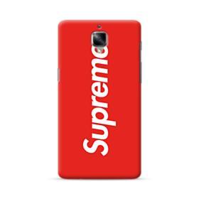 Red Supreme OnePlus 3 Case