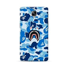 Bape Shark Blue Camo OnePlus 3 Case