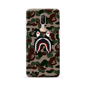 Bape shark camo print OnePlus 6 Case