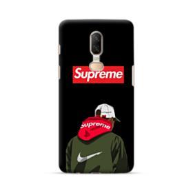 Supreme x Nike Hoodie OnePlus 6 Case