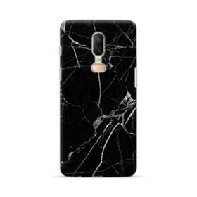 Black & White Marble OnePlus 6 Case