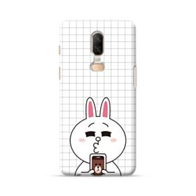 Line Friends Cony in Love OnePlus 6 Case
