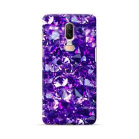 Purple Diamond Glitter OnePlus 6 Case