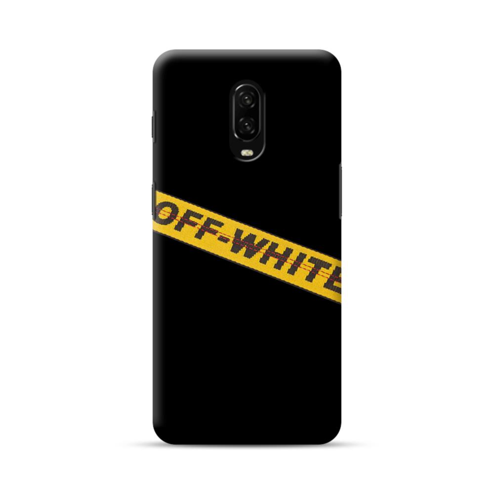 size 40 48e30 931d0 Off White Lining OnePlus 6T Case