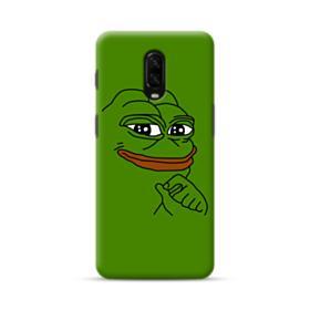 Smug Pepe Frog Funny Meme OnePlus 6T Case