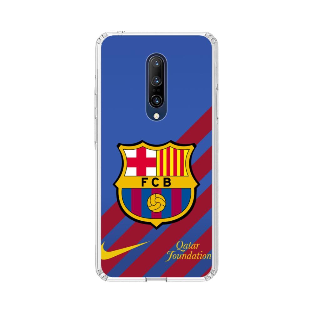 Barcelona Team Logo OnePlus 7 Pro Clear Case | CaseFormula