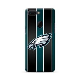 Philadelphia Eagles Team Logo Vertical Stripes Oppo R15 Case