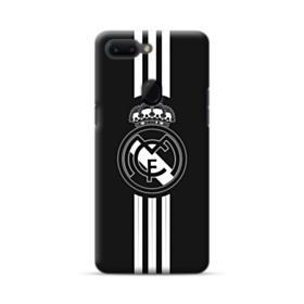 Real Madrid Team Logo Black White Oppo R15 Case