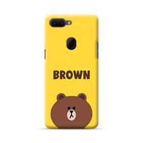 Line Friends Brown Oppo R15 Case
