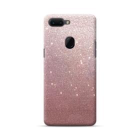 Rose Gold Glitter Oppo R15 Case