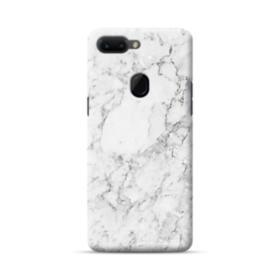 White Marble Oppo R15 Case