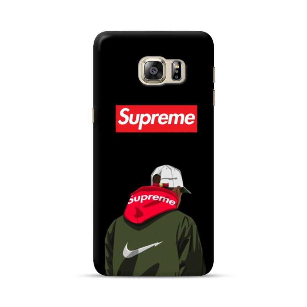 best service 7af67 4f181 Supreme Hoodie Boy Samsung Galaxy S6 Edge Plus Case